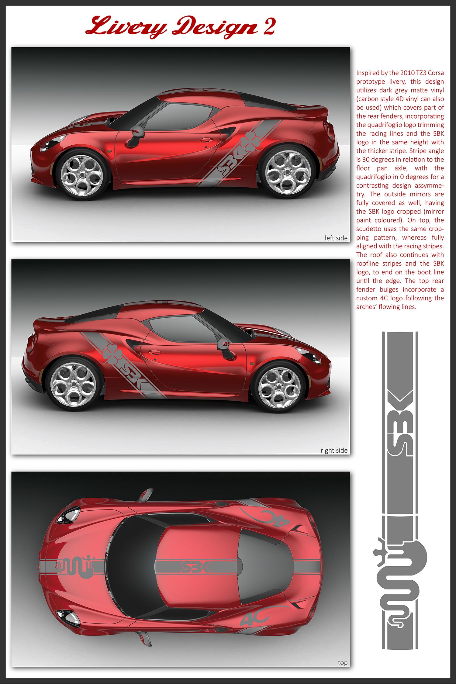 Alfaromeo4c Design 2 Graphic Design In Cyprus Antimonium Design